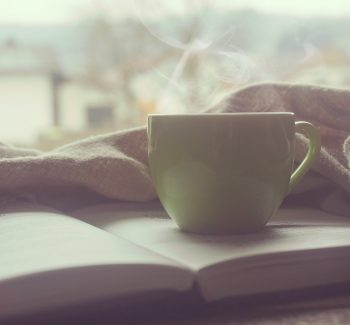 Morning Quiet Time Coffee and Bible