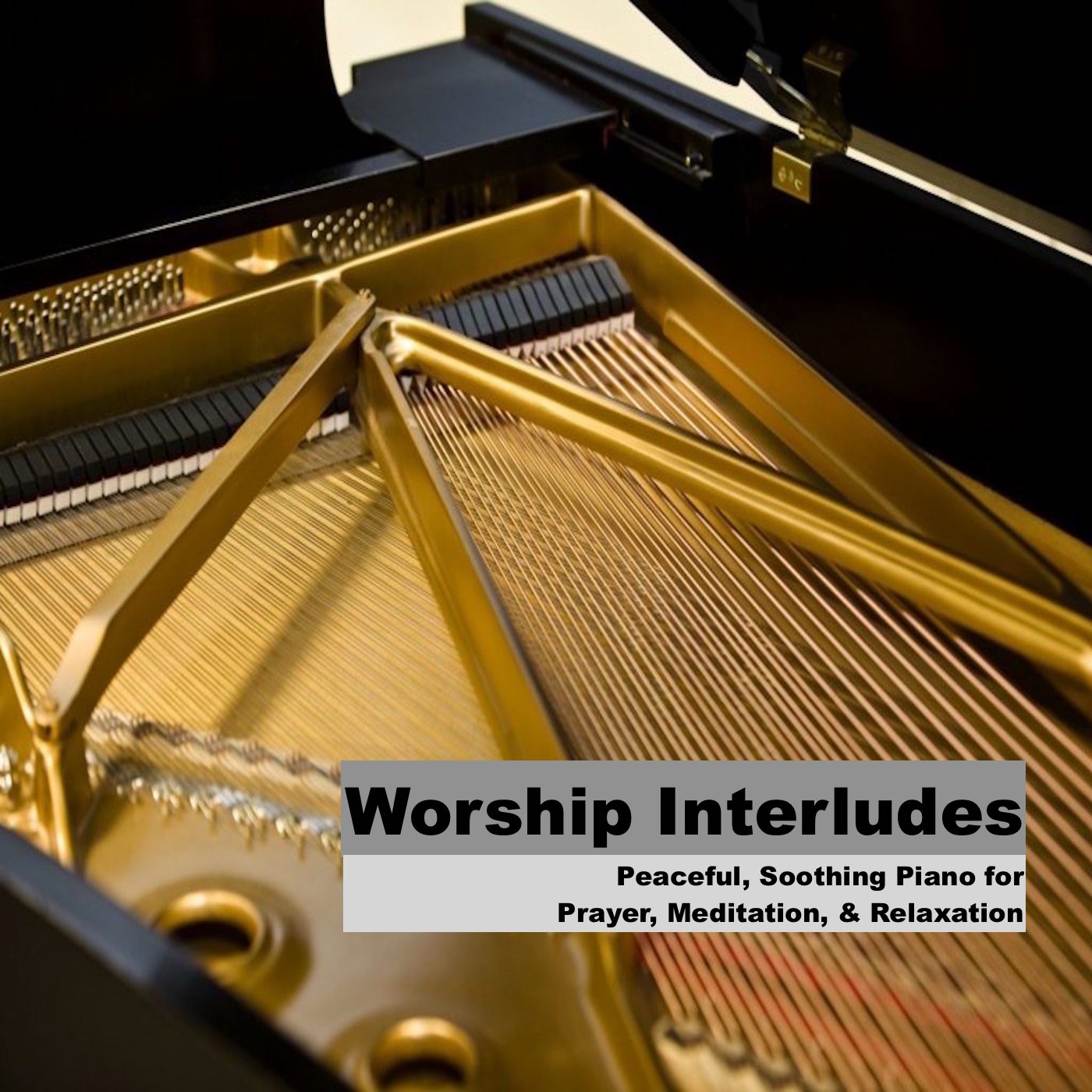 Worship Interludes - Piano Instrumentals for Prayer, Meditation, Soaking Worship, Relaxation, Study, and Rest